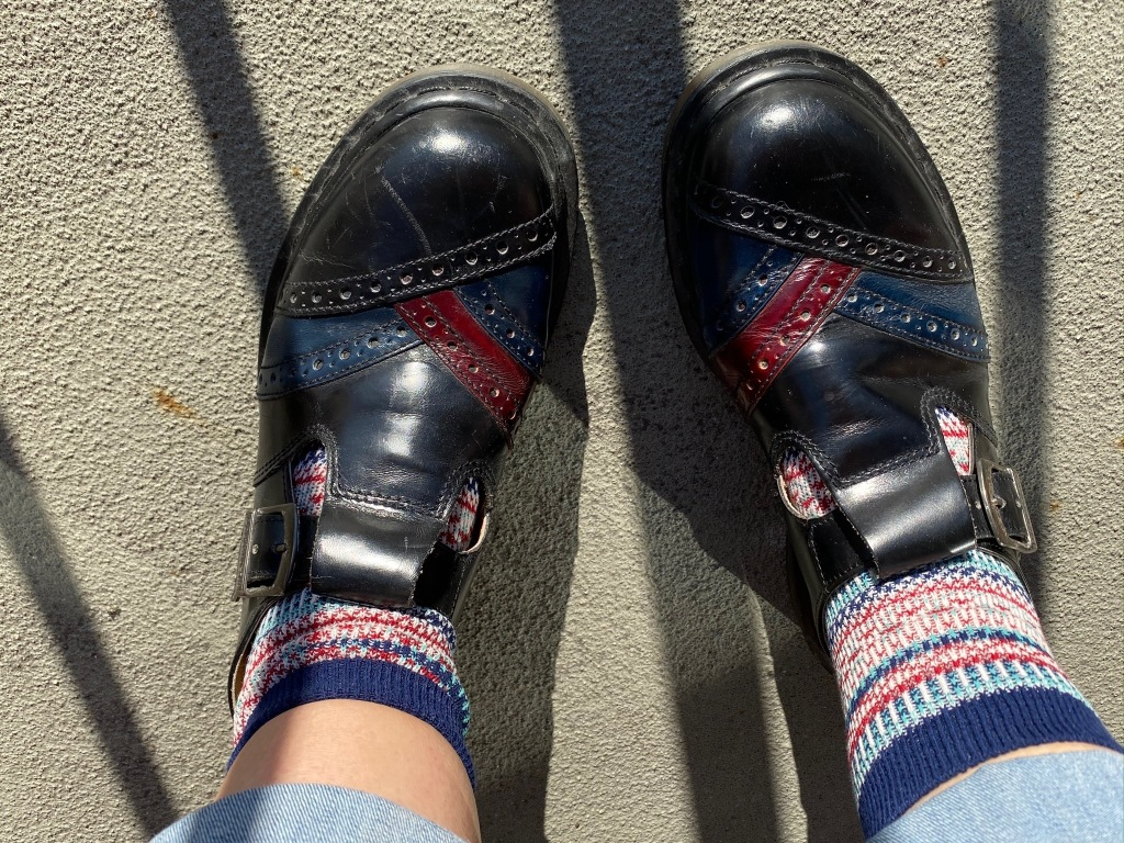 Vintage Dr. Martens. Yep, they're mine.